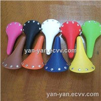 full color fixed gear bike saddle