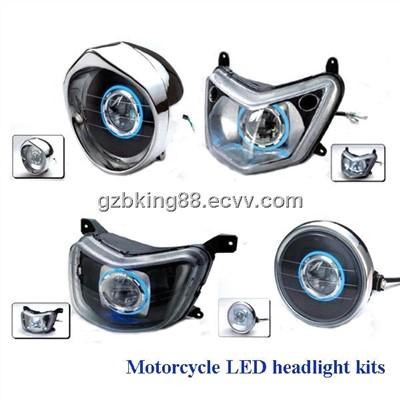 2014 new motorcycle led headlight kits led m series. Black Bedroom Furniture Sets. Home Design Ideas