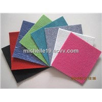 100%polyester non-woven plain exhibition carpet