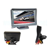4.3inch rear view monitor with Visor cap