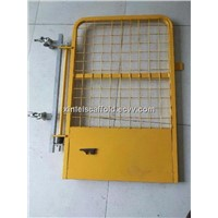 960mm * 761mm Yellow powder coated safety gate/access gate/swing gate