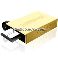 Android Mobile Phone Use USB Key 16GB Golden