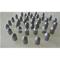 Cemented carbide parabolic buttons for coal mining