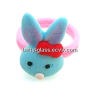 Different Beautiful Small Animal Clay Rings Gift Polymer Clay Ring