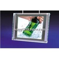 Frameless crystal ultra slim led light box