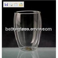 Heat-resistant Double-wall Glass Cup 250ml Glass Coffee Cup