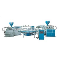 Good Quality Two color TPR &TPU&TR Sole Injection moulding  machine