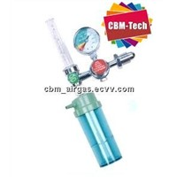 Medical Oxygen Cylinder Flow Meter with Humidifier Bottle