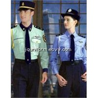 Men's Security Uniforms with Jacket, Shirt and Pant