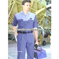 Men's Workwear Short Sleeve in High Quality Customized Design
