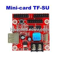 Mini-Card TF-SU LED Display Control Card,Single & Dual Color Support