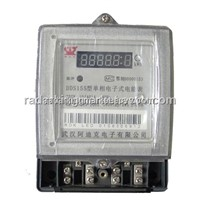 Single Phase Static Electric KWH Meter DDS155(LED)