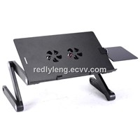 Special designed,very popular,light weight adjustable aluminum notebook table