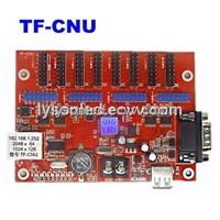 TF-CNU LED display control card,Network communication