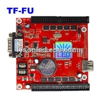 TF-FU LED Display Control Card,Support P10 Small Full Color Signature