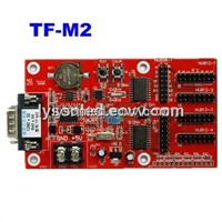 TF-M2 LED Display Control Card,Single & Dual Color Support,Seperate Area