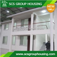 180m2 Two-Families Building Steel Structure/Earthquake Resistance_SCS GROUPHOUSING