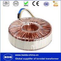 220v 12v toroidal power transformer manufacturer from Foshan Baida Electrical Co., Ltd.