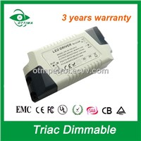 22W Triac Dimming Driver LED Driver Dimmable