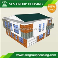 240m2 Two-Families Modern House of Steel Structure/Earthquake Resistance_SCS GROUPHOUSING