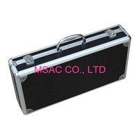 24g Foam Small Aluminum Tool Case For Carry Hand Tools With Metal Handle
