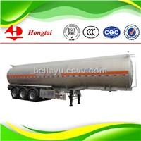 3 axle  50000 litre aluminum  fuel tanker semi trailer