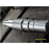 4130 alloy steel step shaft roller