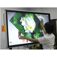 47''-84'' Riotouch LED multi touch all in one screen monitor integrated with OPS PC