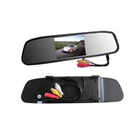 4.3inch rearview mirror display
