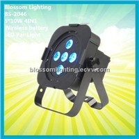 5*10W 4IN1 LED Wireless battery Par Light (BS-2046)