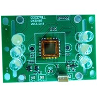 600TV  Lines COLOR COMS  camera board of doorbell/ Cmos  camera board  lens