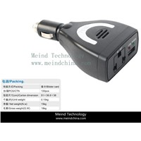 75W Car USB Power Inverter Converter Adapter Charger Cigarette lighter Meind