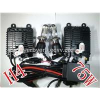 75w H4 conversion kit  luces de xenon slim ballast