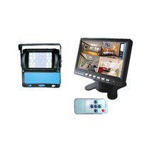 7'' Digital screen and Four split screen series Car Rearview Monitor/Car Monitor