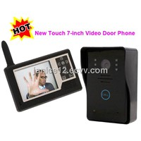 7inch Home Security Audio/video TFT Lcd Door Phone