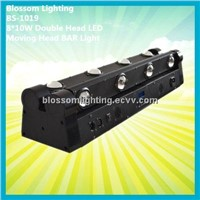 8*10W Double Head LED Moving Head BAR Light (BS-1019)