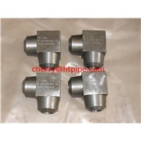 ASME B16.11 socket-welding fittings elbow cross tee coupling half-coupling cap