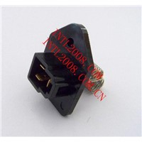 Air conditioning blower motor resistor