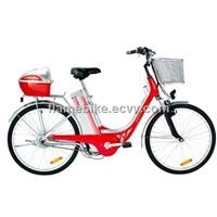 Alloy Ladies Electric Bicycle/Aluminum Lady Electric Bike/Alloy Electric Bike
