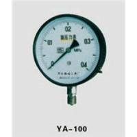 Ammonia gas pressure gauge