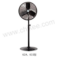 "18""/20""/'24""/30"" CHIKEE Industrial Pedestal Base Mount Commercial Oscillating Air Circulator"