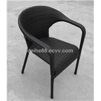 CH-028 outdoor rattan& wicker bar chair with cushion