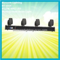 CREE 4pcs*10W 4IN1 LED Moving Head Beam Bar Light (BS-1026)