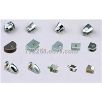Cabinet glass clip&glass clamp steel