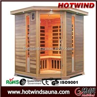 Carbon Heater Corner Sauna room