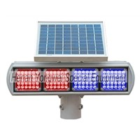 Cheap Solar Traffic warning Lights/led flashing warning light