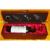Cheapest Natural Wood Wine Gift Boxes