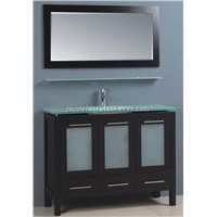 China Supplier hotel bathroom vanity cabinet furniture