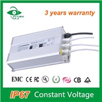 Constant Voltage Output 12vdc 200w Waterproof LED Power Supply