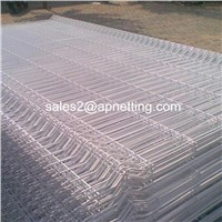 Curve Type Welded Wire Mesh Fence 5mm Wire 50mm by 200mm Aperture Fence Panels